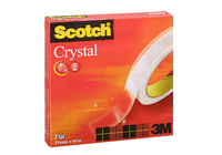 Scotch Crystal Clear Tape 19mmx66M 600