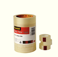 Scotch Easy Tear Clr Tape 19mmx33M