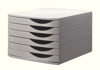 Jalema Desktop 6 Drawer Set Grey