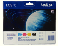Brother Ink Cart Value Pack LC970 KCMY