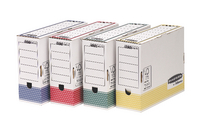 Fellowes Bankers Box A4 Trans File Asst