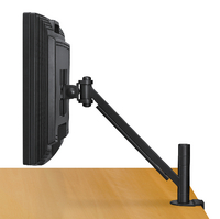 Fellowes Flat Panel Monitor Arm Black