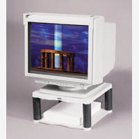 Fellowes Prem Monitor Riser Platnm 91717