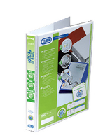 Elba A4 25mm 4D Ring Pres Binder White