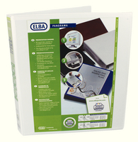 Elba Panorama Pres Binder A4 2D 25mm Wht
