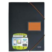 Elba 60 Pocket Display Book Orange