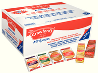 Crawfords Assorted Mini Packs Pk100