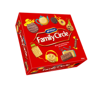 Jacobs Family Circle Biscuits 800g