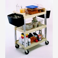 Multipurpose Cart 3Shelf Beige 5810Be