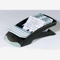 Durable Telindex Desk Black 2412/01