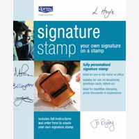 Dormy Signature Stamp 11307