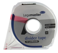 Legamaster Self Adh Tape 2.5mmx16M Blk