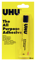 Uhu All Purpose 20ml Blistercard