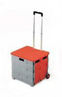 GPC Folding Box Truck/Lid Gry/Red GI042Y