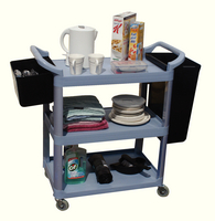 GPC 3Shelf Service Trolley Grey HI424Y