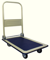 GPC Folding Trolley LtWt Cr/Bu GI002Y