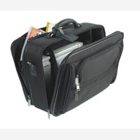 Masters Nylon Laptop/Overnight Case Blk