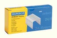 Rapesco Staples 6mm 24/6 Pk5000