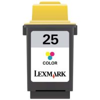 Lexmark No25 HY Ink Cart Col 15M0125