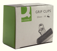 Q-Connect Grip Clip 25mm Pk10