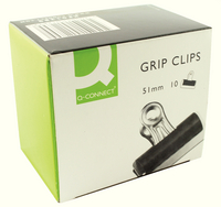 Q-Connect Grip Clip 51mm Pk10