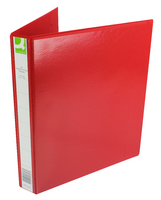 Q-Connect Pres Binder 4 DRing 25mm Red