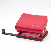 Q-Connect Medium Duty Hole Punch Red