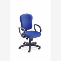 Vega High Back Synchro Ops Chair Claret