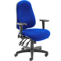 FF Avior High Back Posture Chair Blue