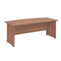 FF Avior 2000mm Bow Front Desk Cherry
