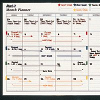Mark-it Month Planner Magnetic