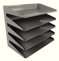 Avery Letter Rack 5Tier Grey 605