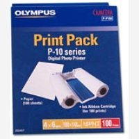 Olympus Ink Cartridge and Paper Pk100