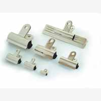 Bulldog Clip 20mm Pack10 Silver