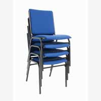 Galaxy Stacking Chair Rblue/Black PS902