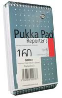Pukka Reporters SHand Notebook 160pp