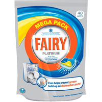 Fairy Platinum Dishwasher 72 Tablets
