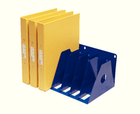 Rotadex 7 A4 Ringbinder Rack Blue