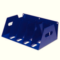 Rotadex 5 LA File Rack Blue