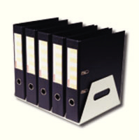 Rotadex 5 LA File Rack GunMetal