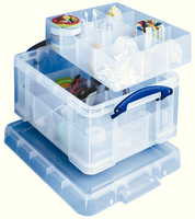 Really Useful 21L Box 6/12Prt Divs Clr