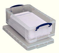 Really Useful 12L StorBox Clear 12C