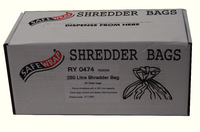 Safewrap Shredder Bags 250 Litre Pk50