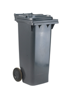 FD Refuse Container 120L 2 Whld Gry 33