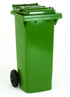 FD Refuse Container 140L 2 Whld Grn 33