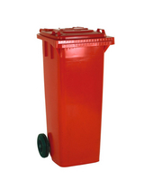 FD Refuse Container 140L 2 Whld Red 33