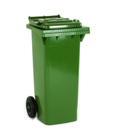 FD Refuse Container 360L 2 Whld Grn 33