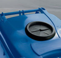 FD 140L Blue Lock Bottle Wheelie Bin