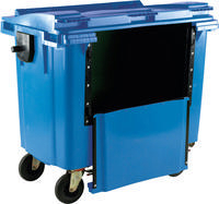 FD 1100L Drop Front Wheellie Bin Blue