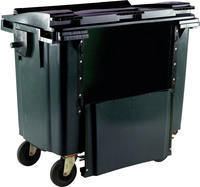 FD 1100L Drop Front Wheellie Bin Grey